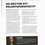 My article about UC in the TelekomIdag magazine